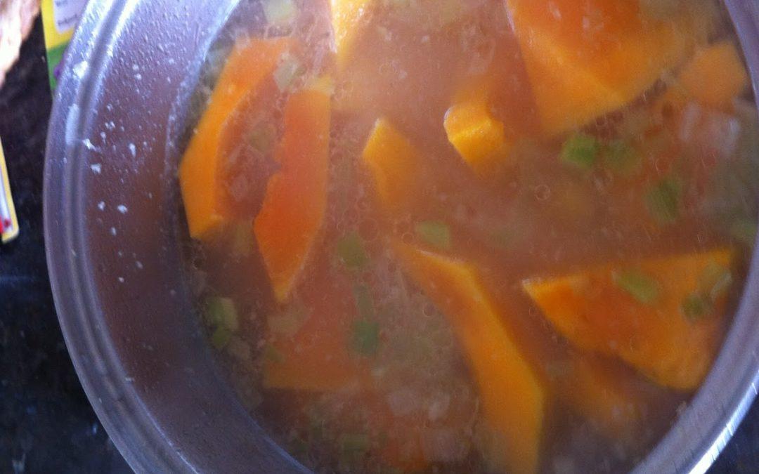 Jo's incredibly delicious pumpkin soup