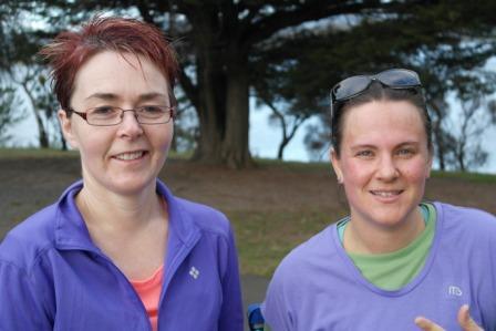 Jodie and Alysia personal training buddies